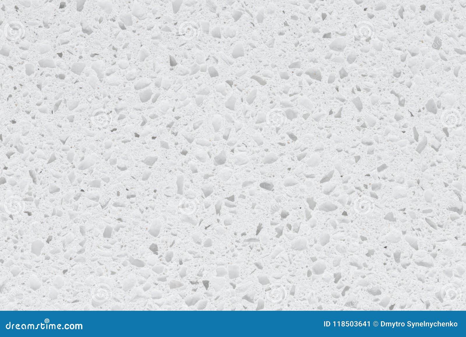 Свежий снежный камень синтетики текстуры wthite