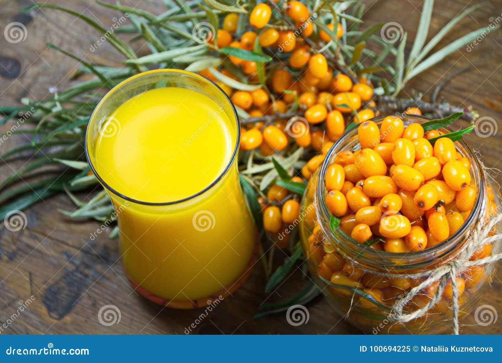 Свежий сок ягод крушины