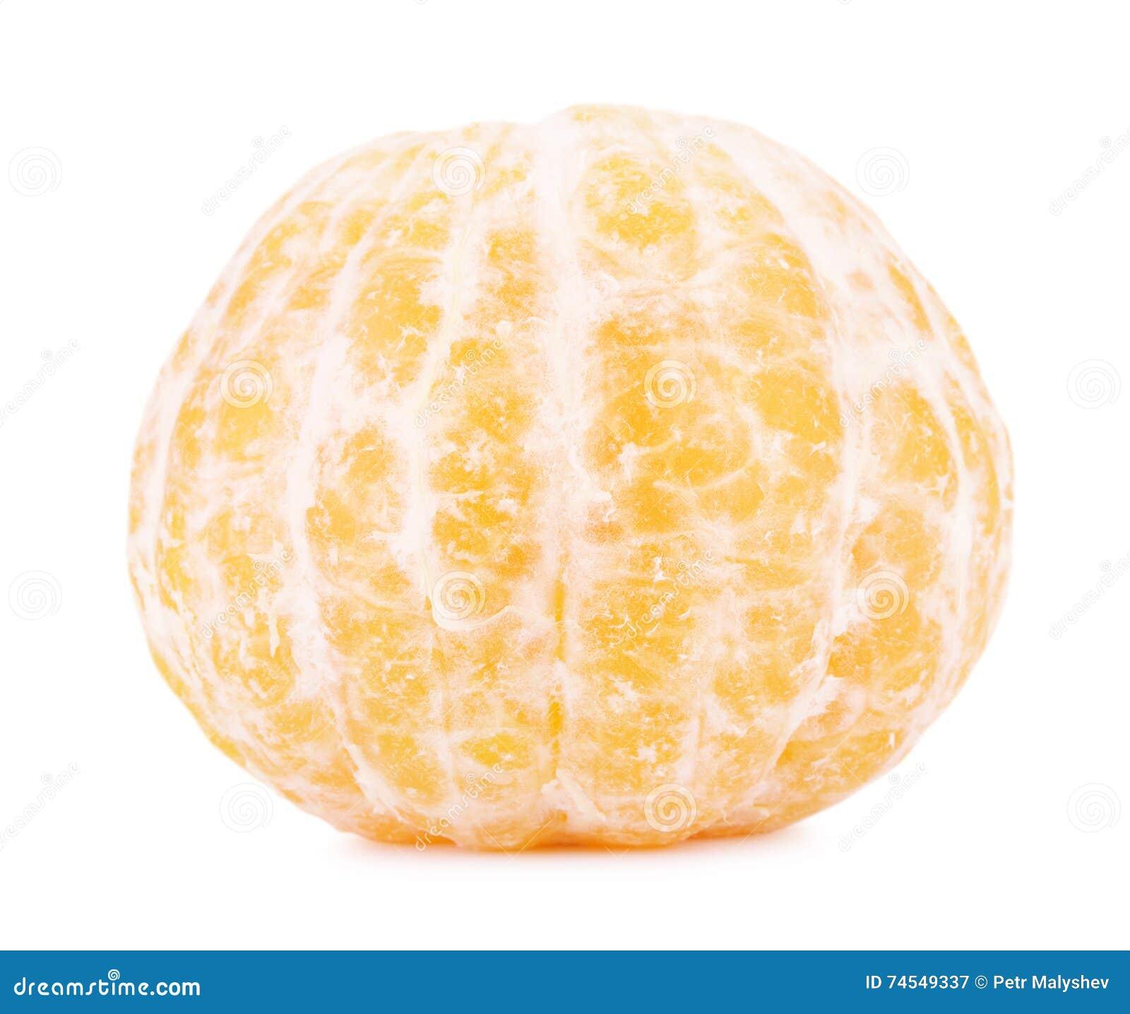 свежий слезли мандарин, котор