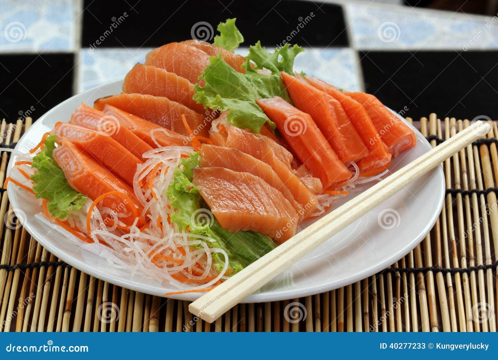 Свежий Salmon комплект сасими