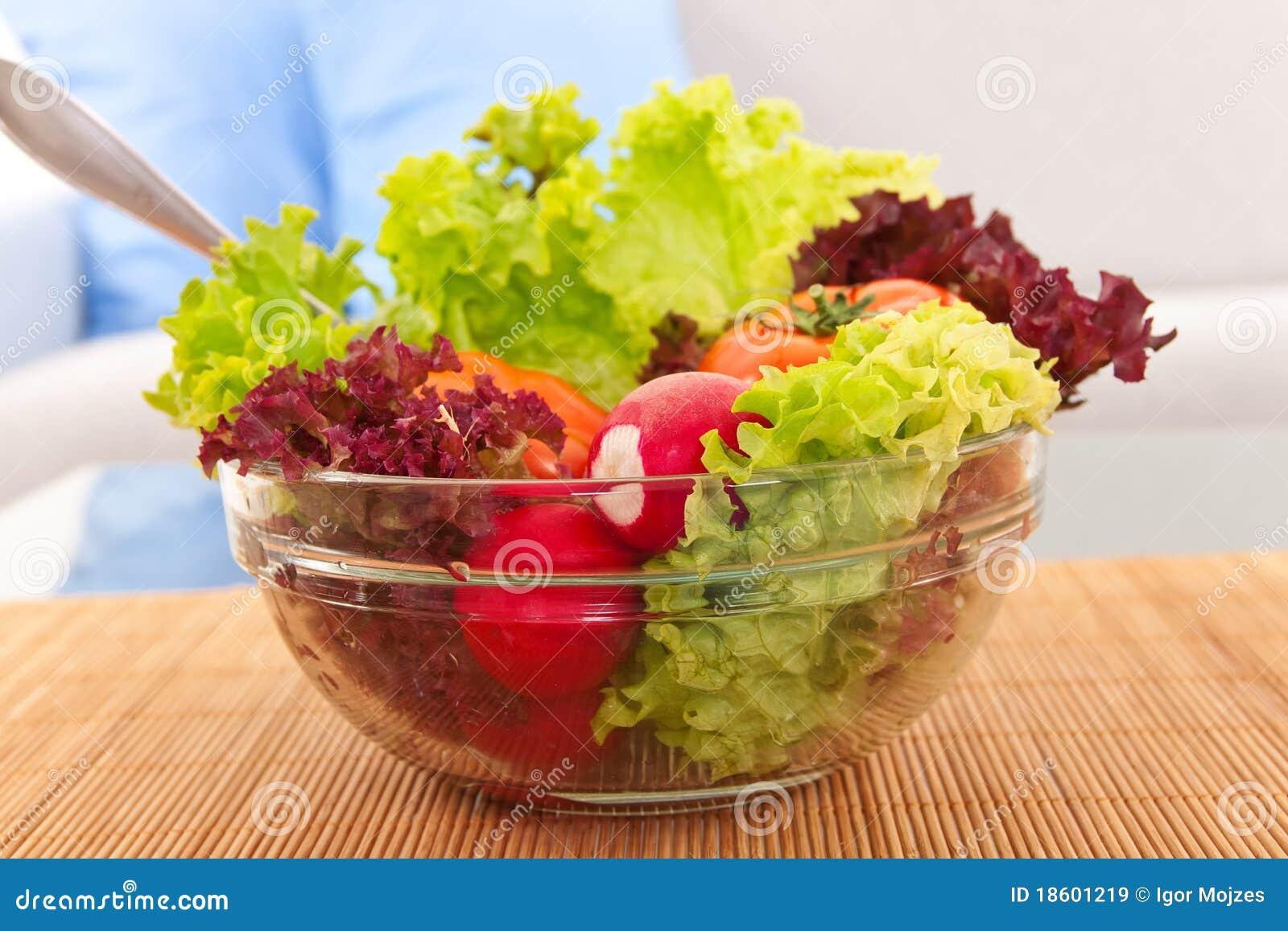 свежий vegetarian салата