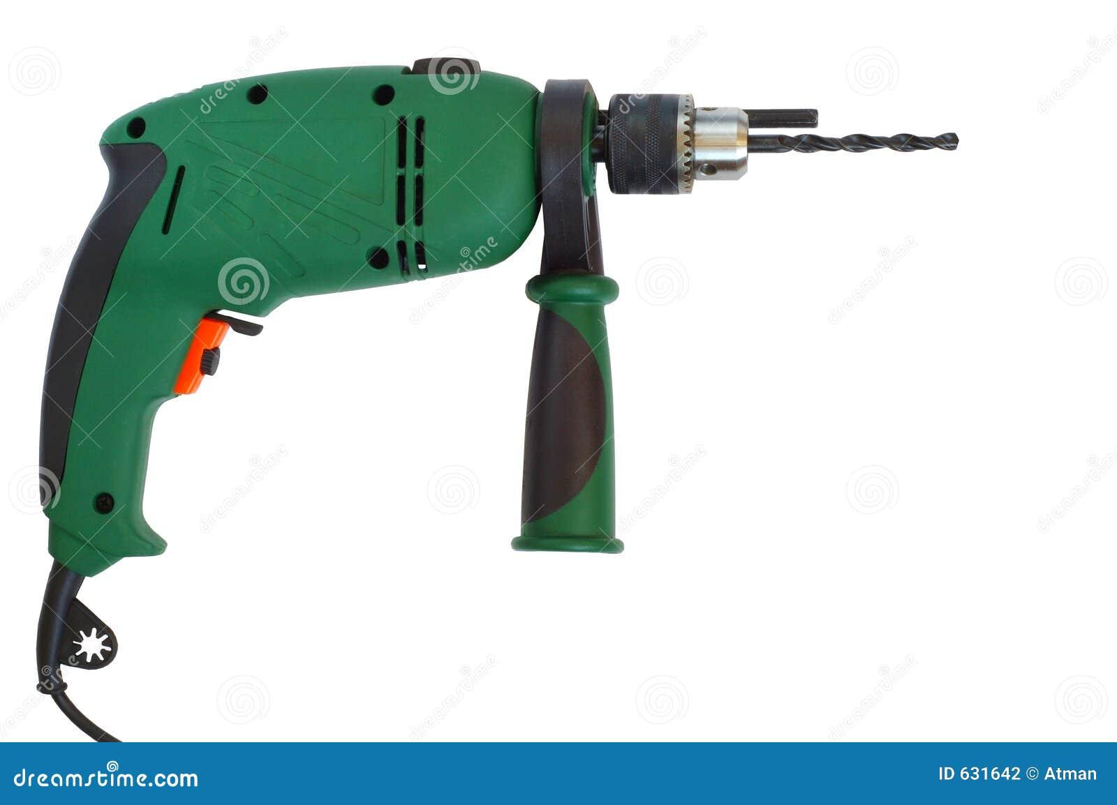 Download сверло стоковое фото. изображение насчитывающей электрическо - 631642
