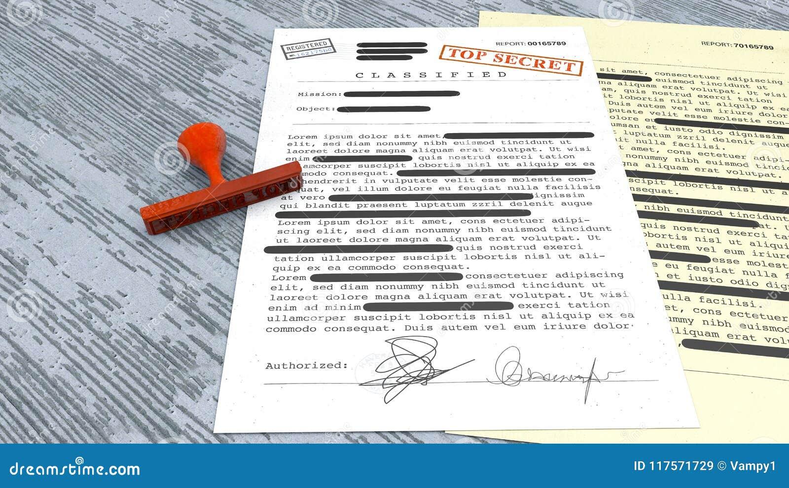 Сверхсекретный документ, штемпель, рассекречиванная, конфиденциальная информация, секретный текст данные по Не-публики