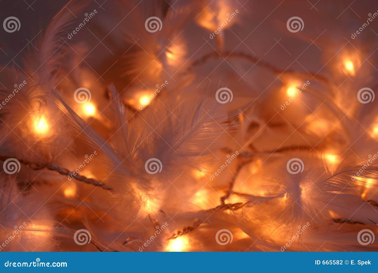 света рождества feathery