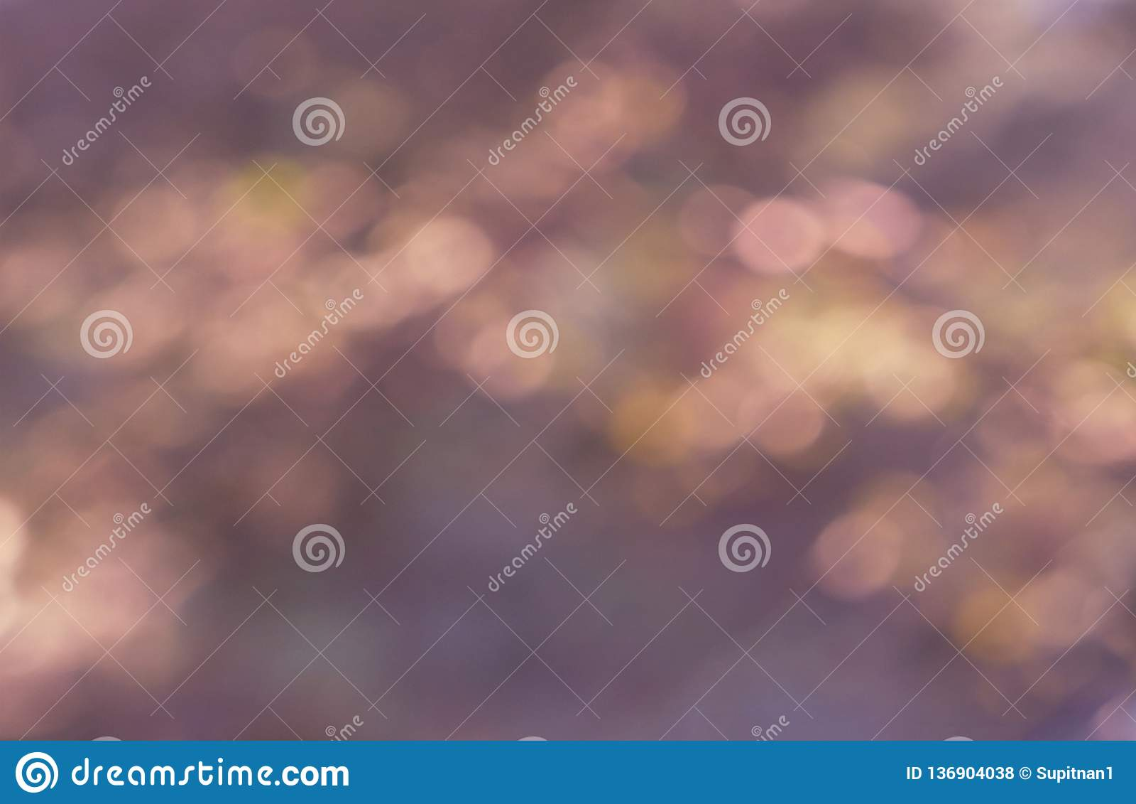Светлое Bokeh абстрактное - розовая текстура фонового изображения ретро на день Valentine's