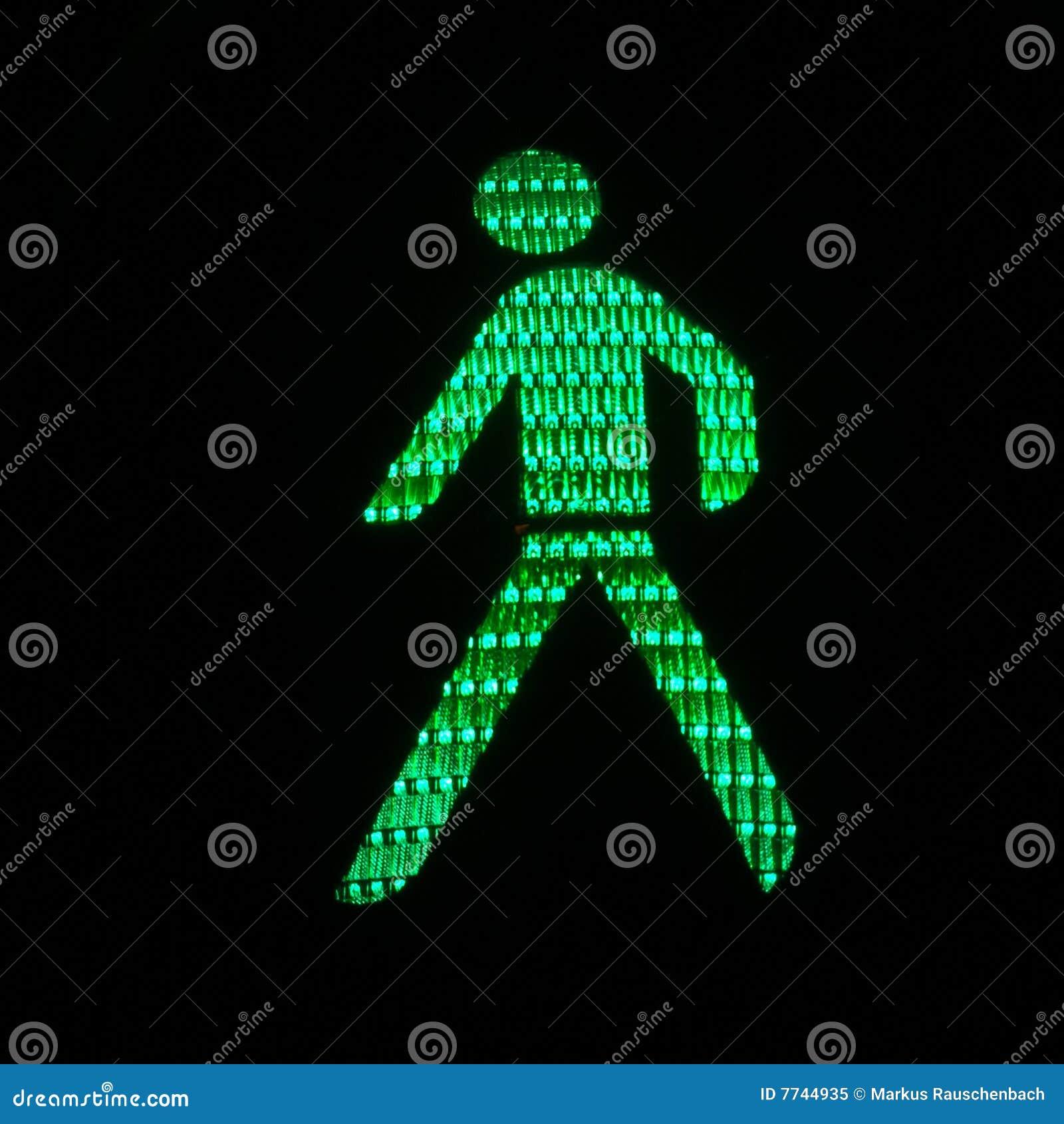 светлый пешеход