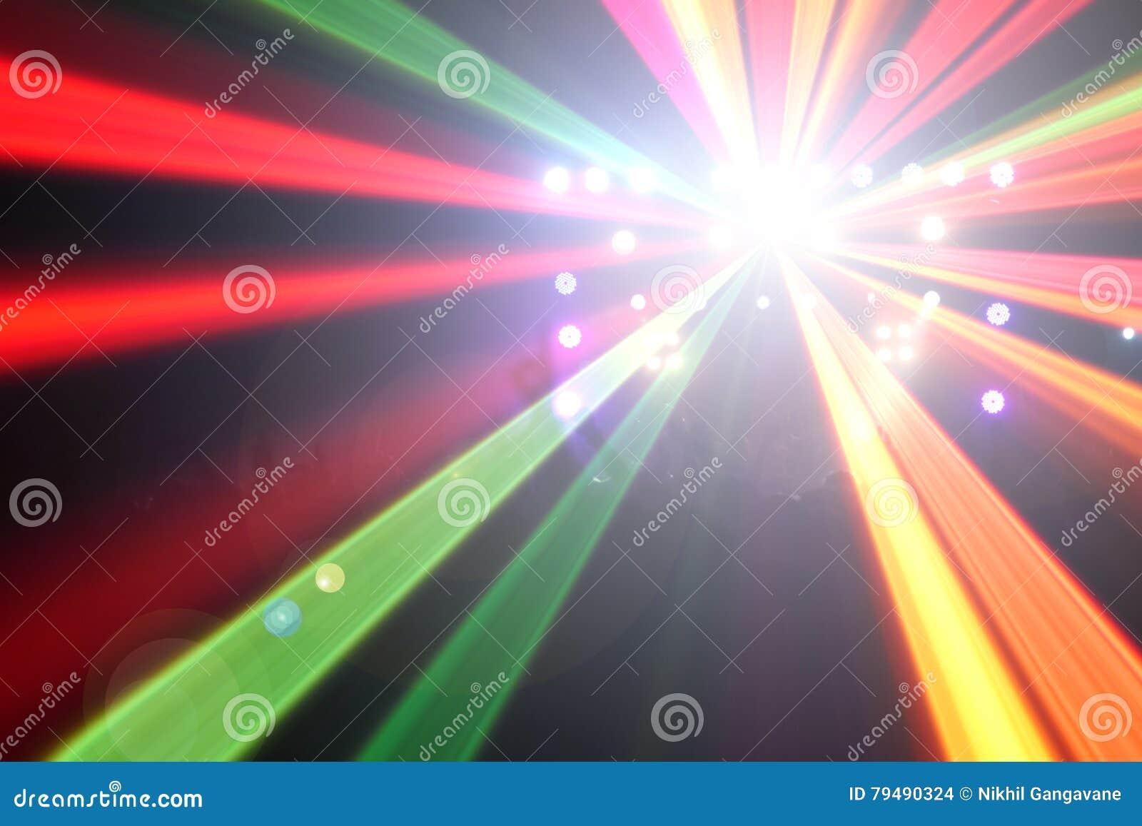 Световые эффекты концерта