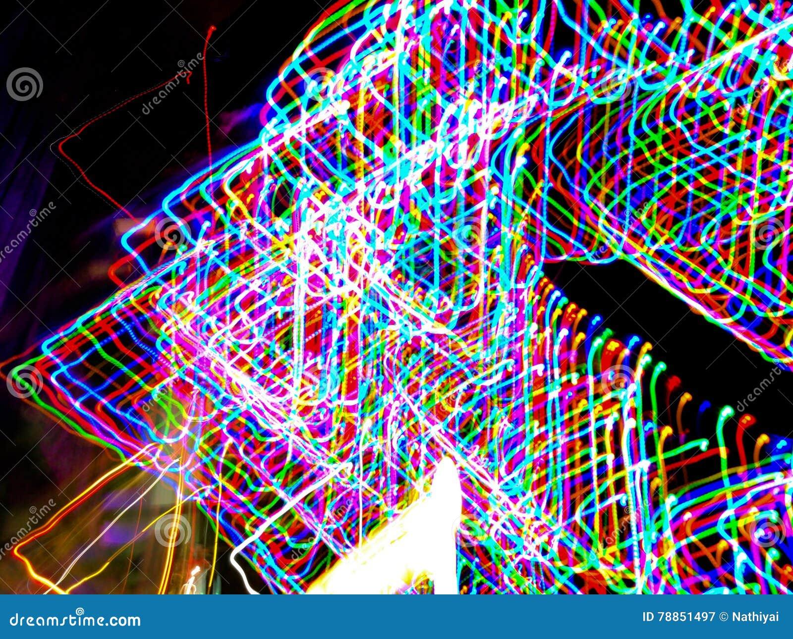 Светлая картина с много красочных шариков
