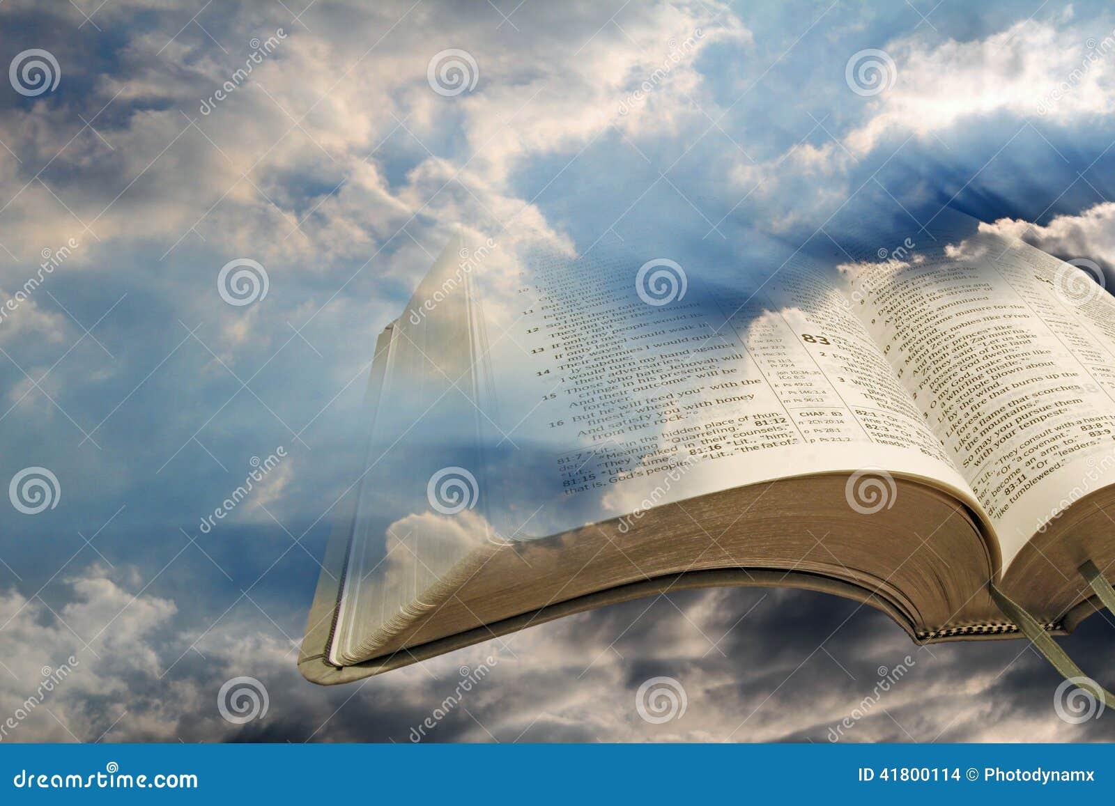Свет библии из темноты