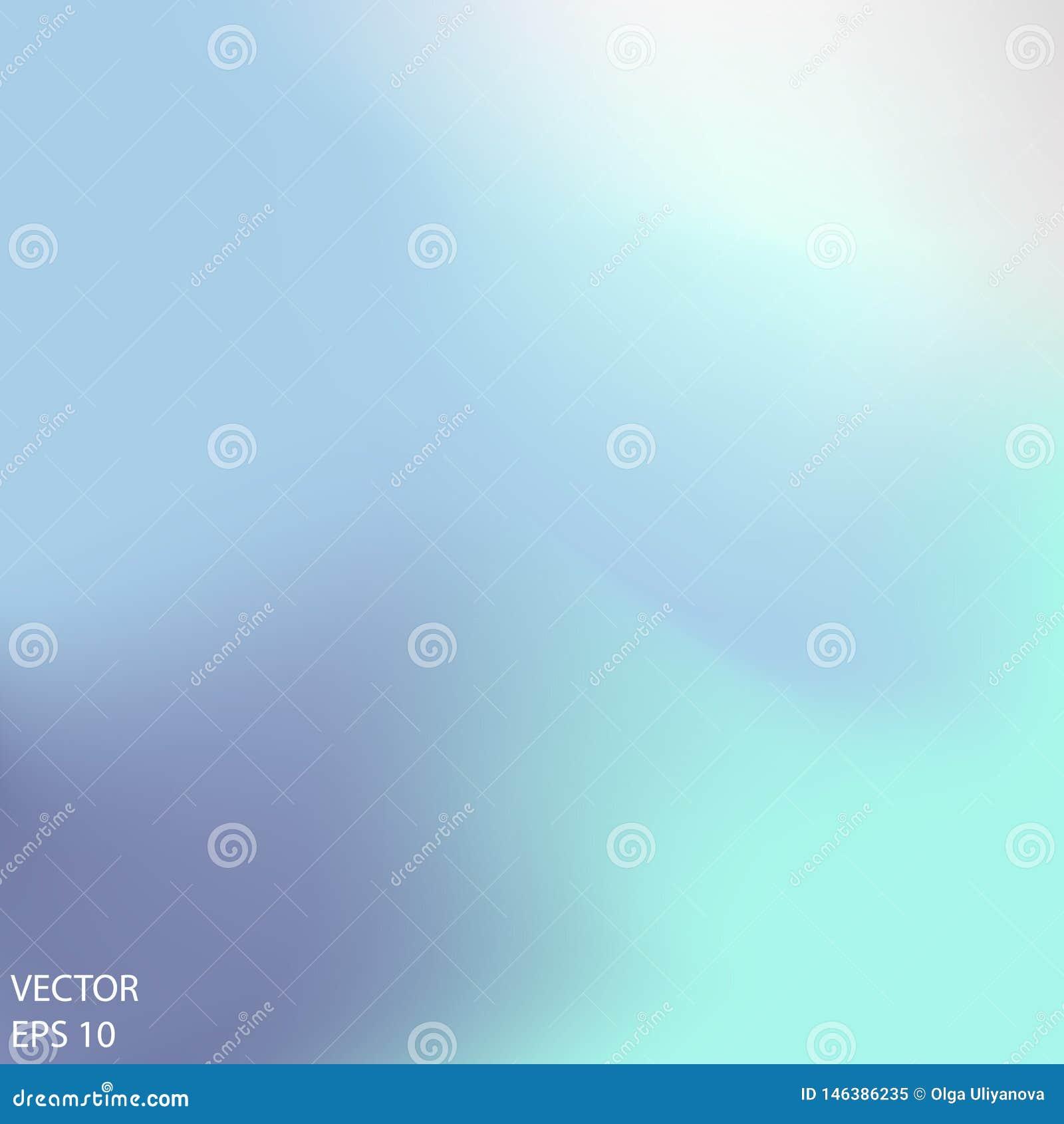 Свет градиента сетки - голубая предпосылка