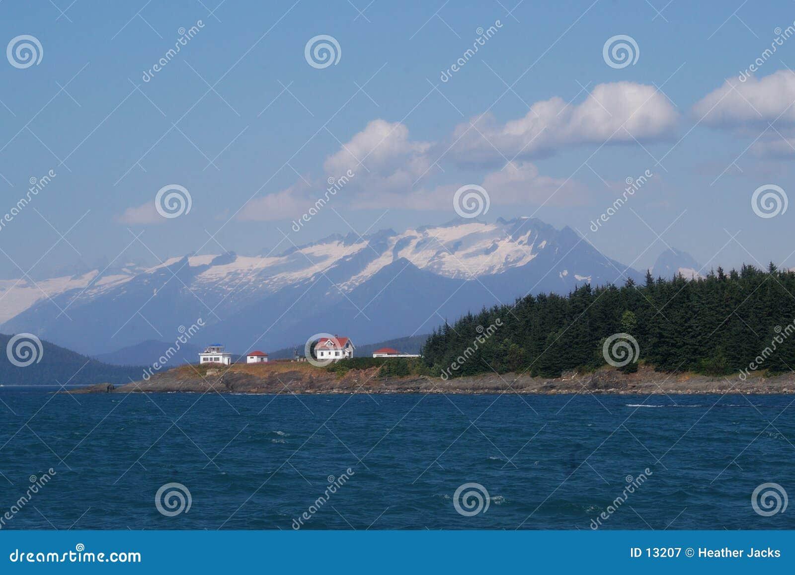 свет дома Аляски