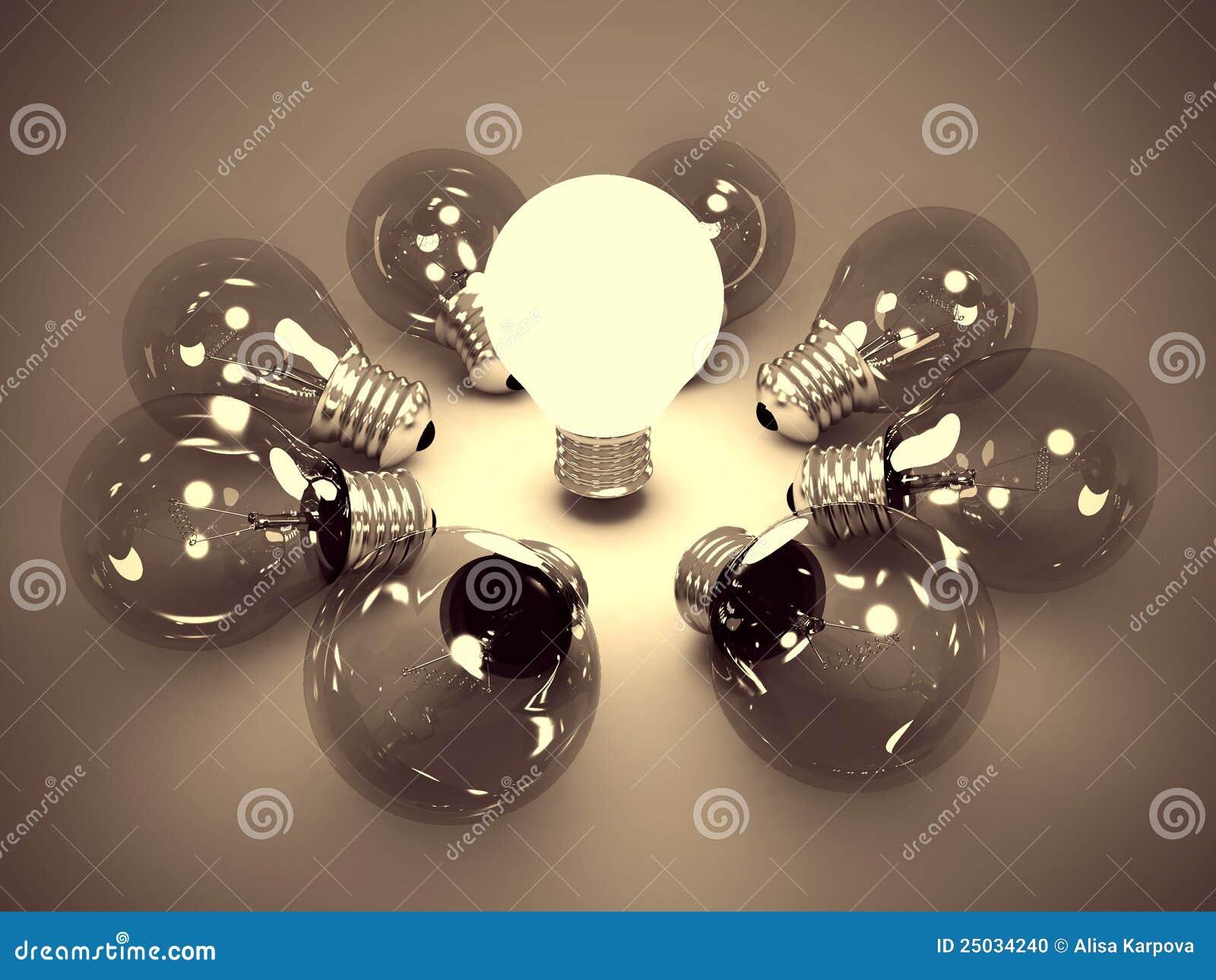 свет одно идеи принципиальной схемы шарика темный накаляя