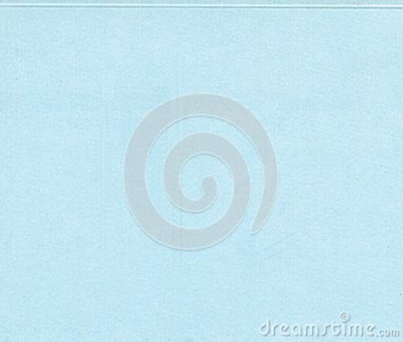Свет - предпосылка голубой бумаги