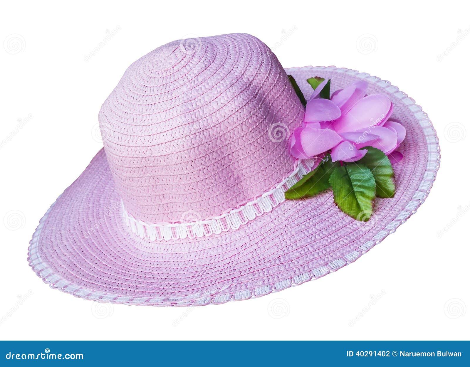 Свет - розовая изолированная шляпа моды