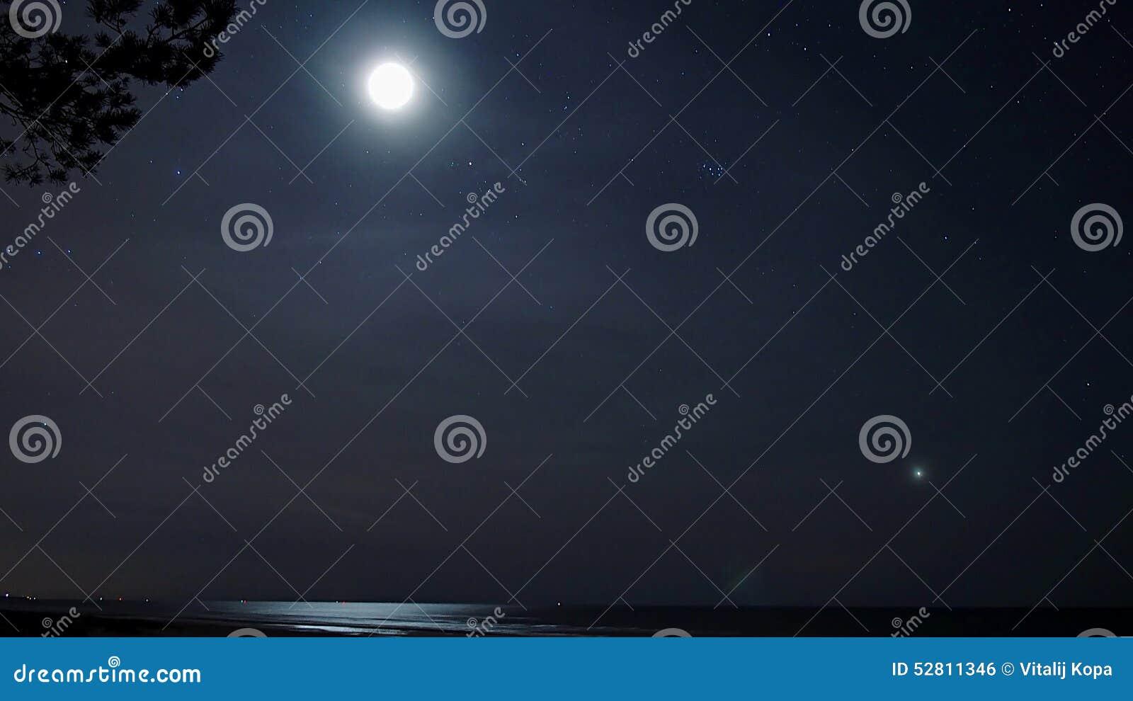 Свет луны