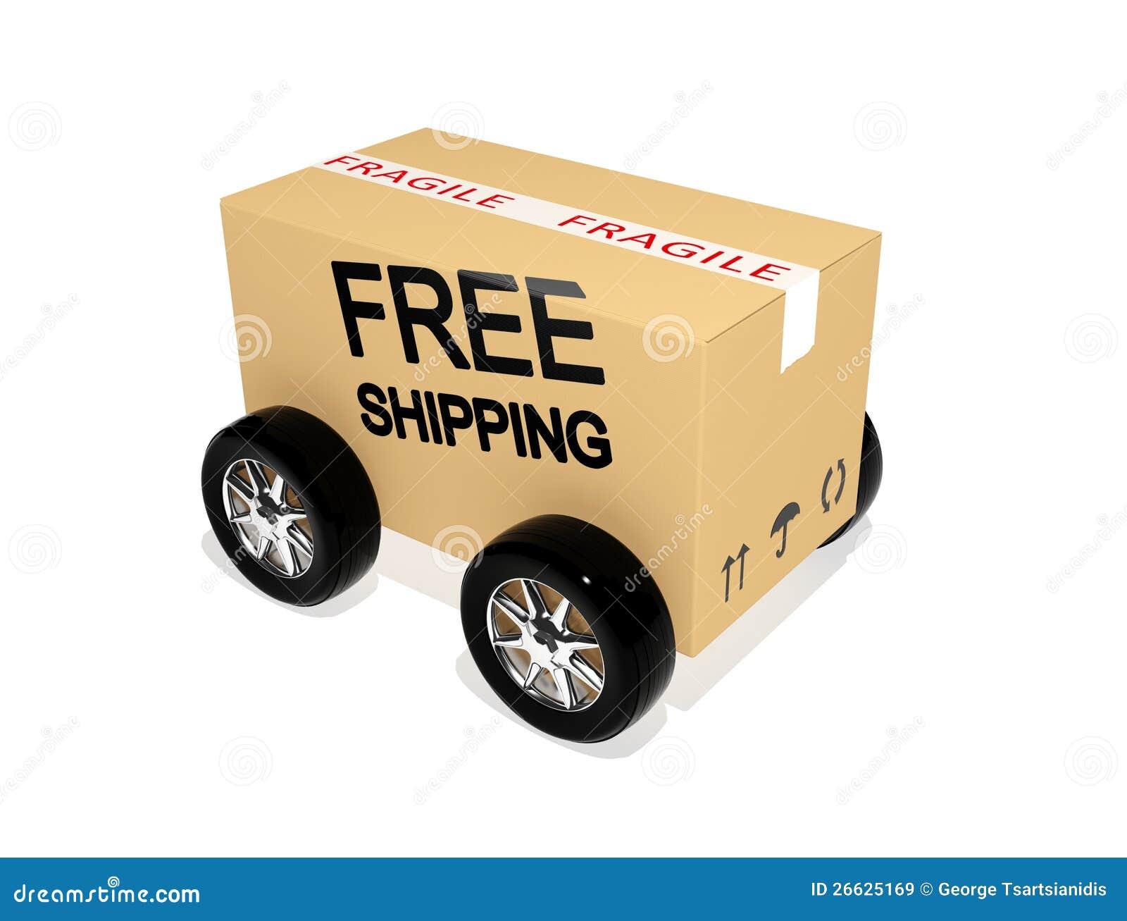 Свободный картон перевозкы груза