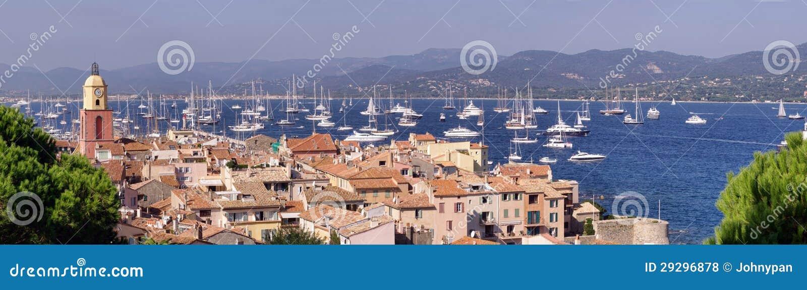 Свободный полет моря Tropez святой