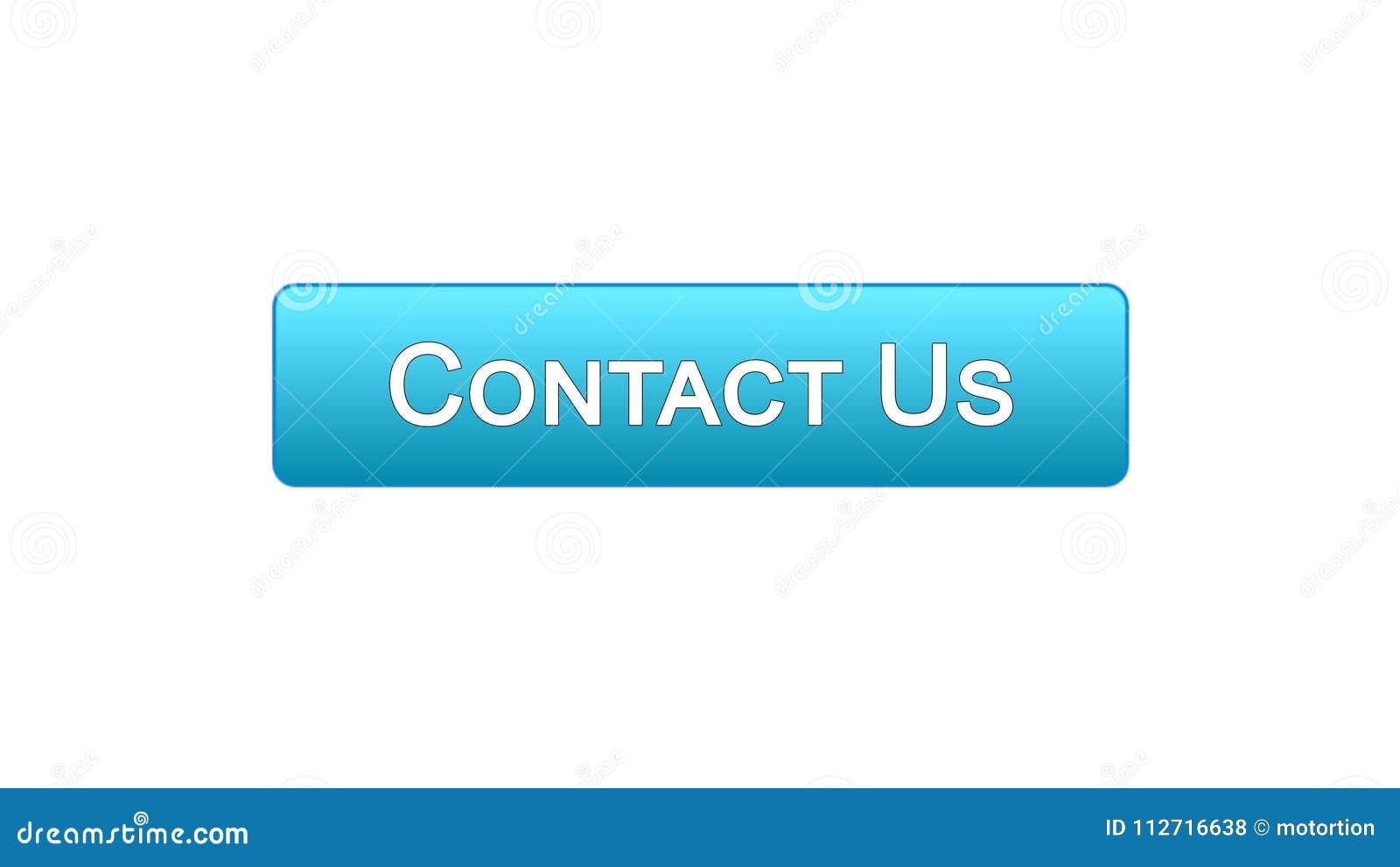 Свяжитесь мы деловое сообщество цвета кнопки интерфейса сети голубое, помощь