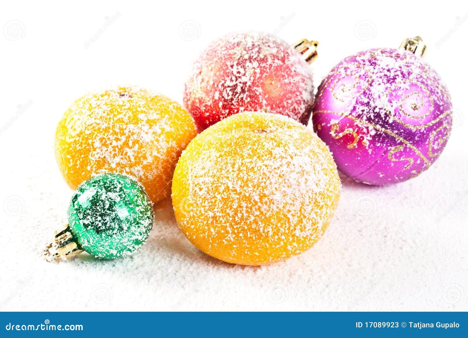 связанный снежок украшений рождества
