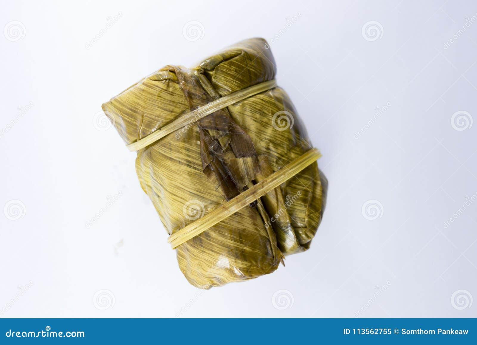 Связь каши испарилась связь каши липкого риса, десерт Таиланда