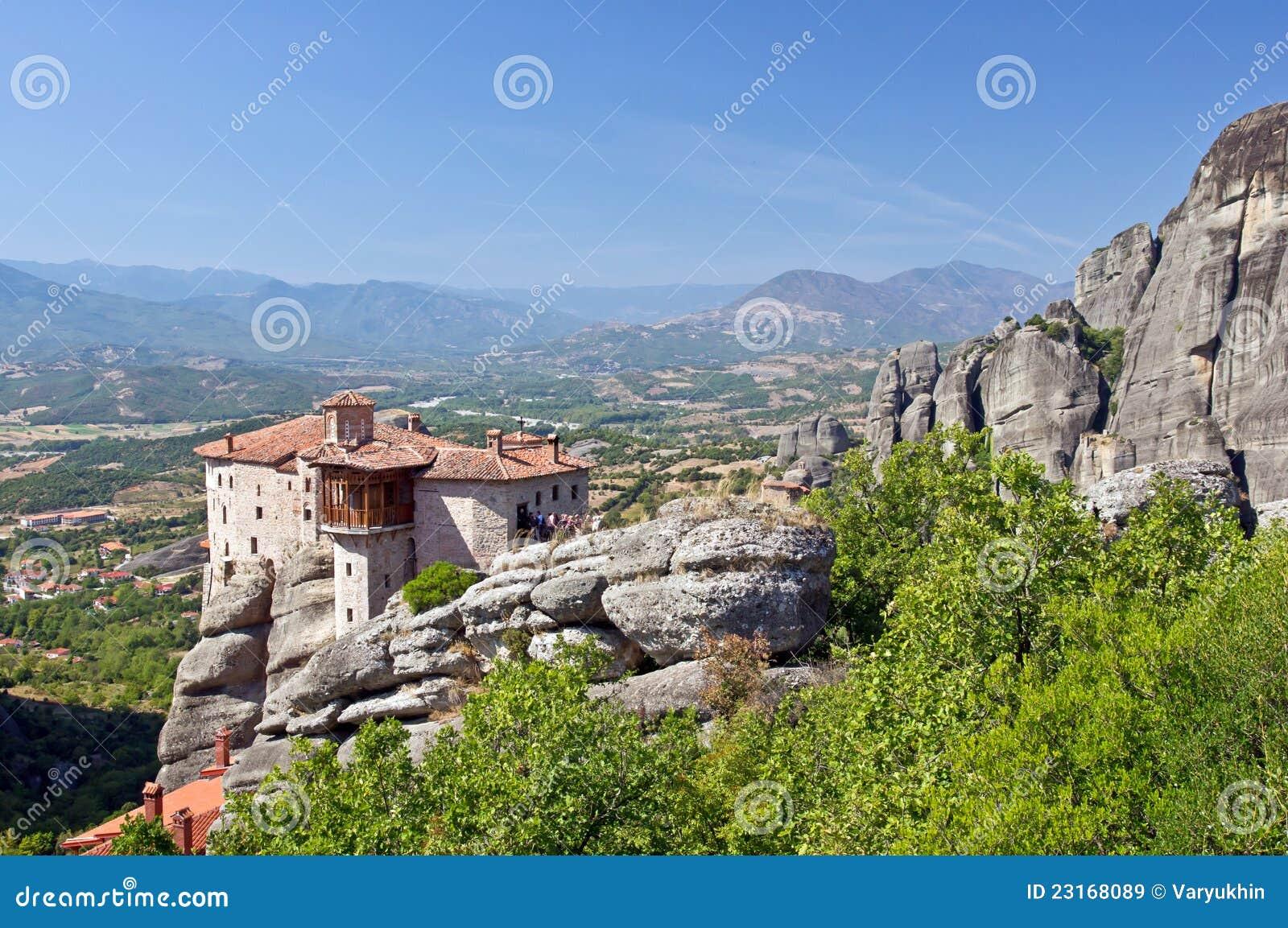 Святейший скит Rousanou. Meteora.