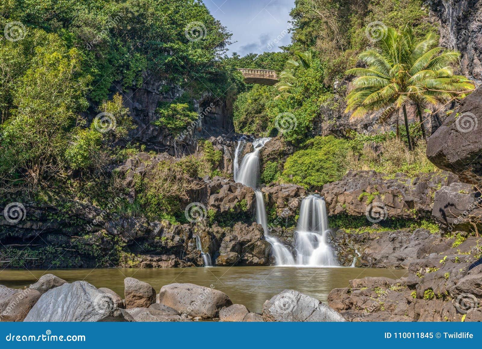 7 священных бассейнов Гана Мауи Гаваи