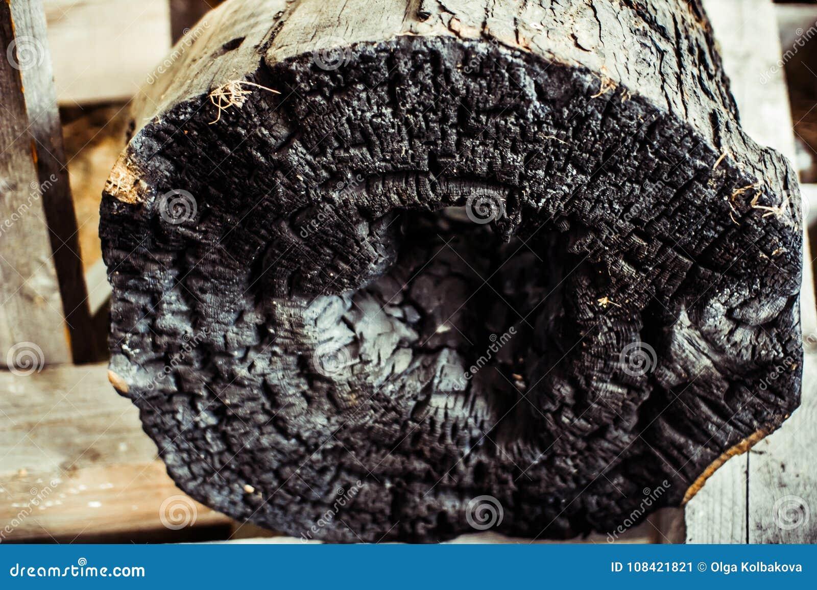 Сгоренный logon внутренность сгорела