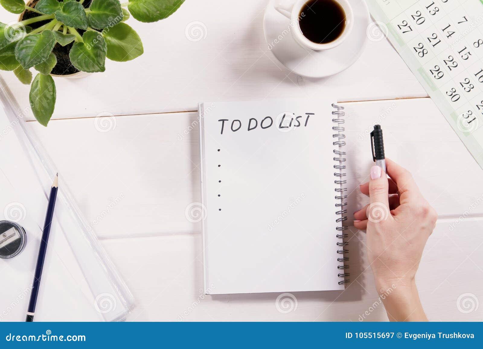 Сделать список написанный в тетради