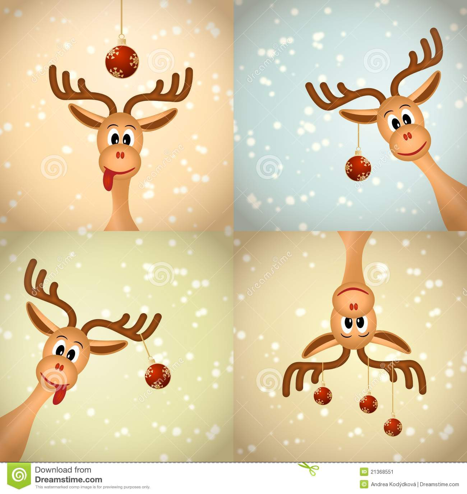 северный олень рождества 4 смешной
