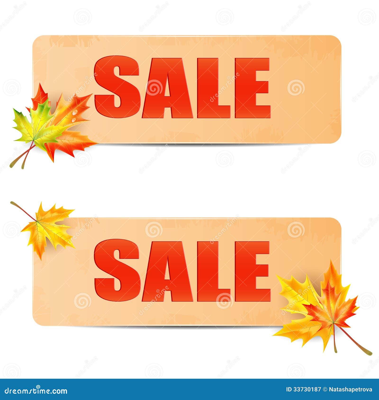 Сезонная продажа осени