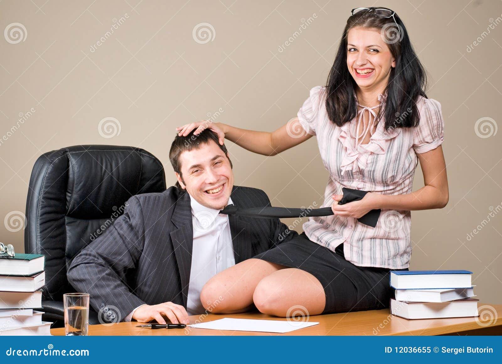 Секретарша и босс фото рисунки — 11