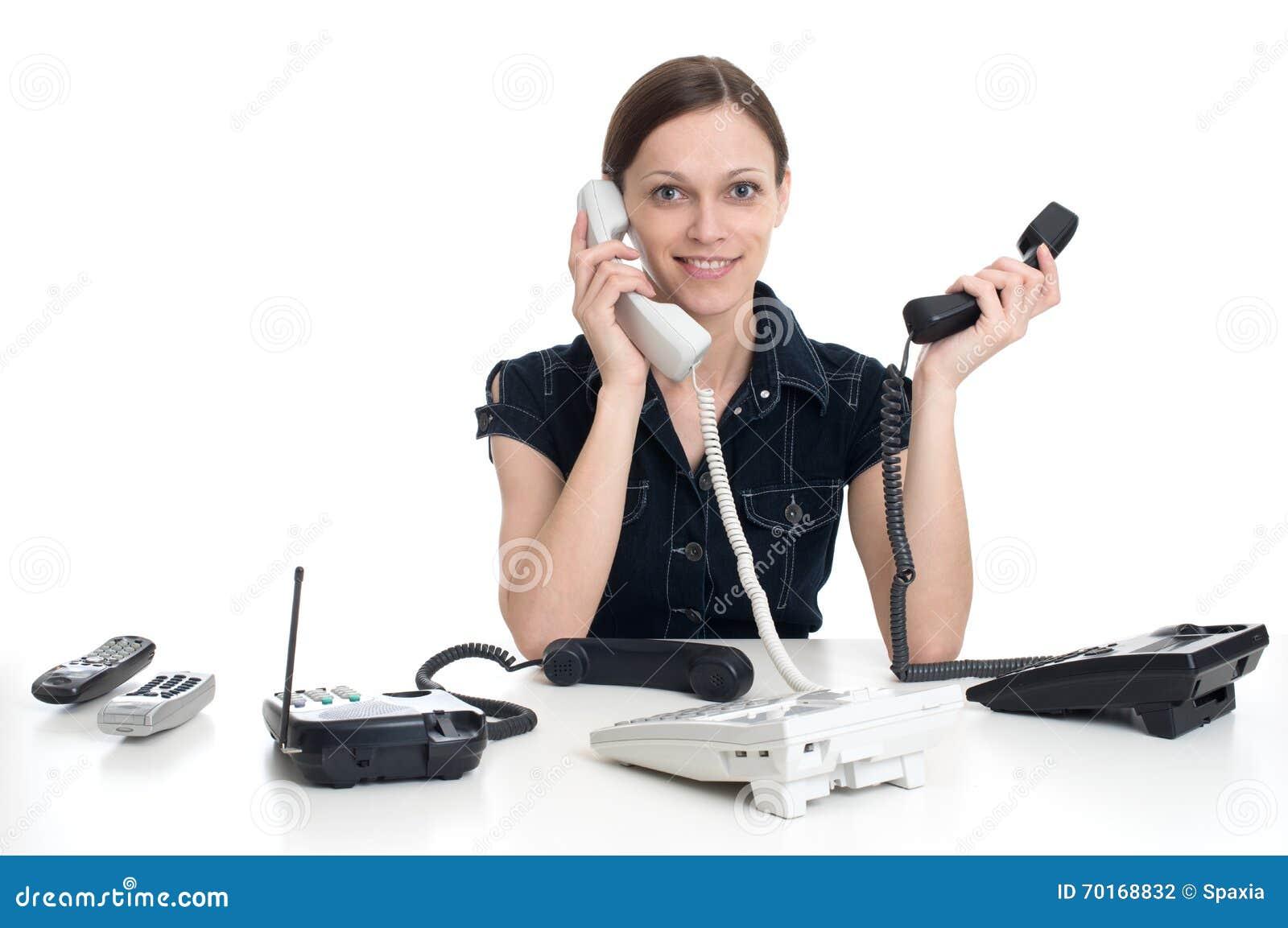 секретарша в офисе скачать