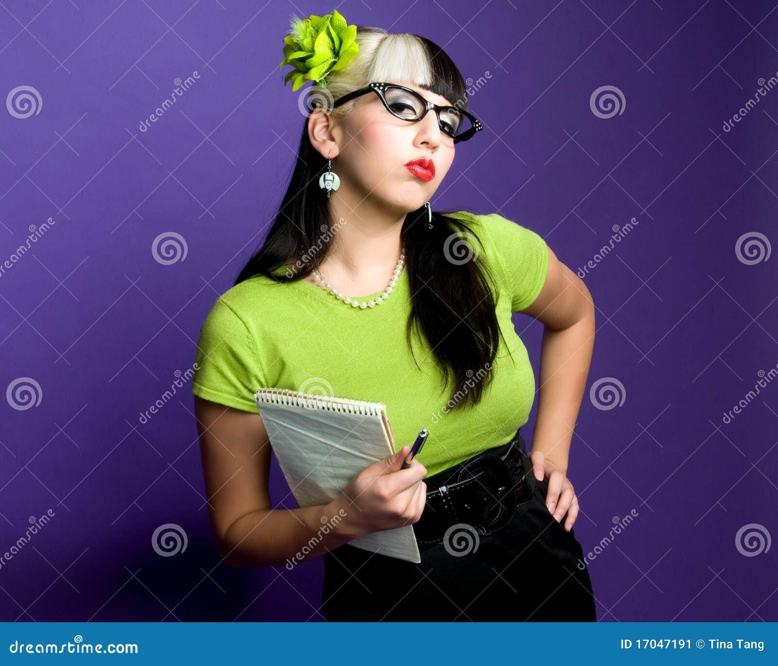 секретарша сексуальная