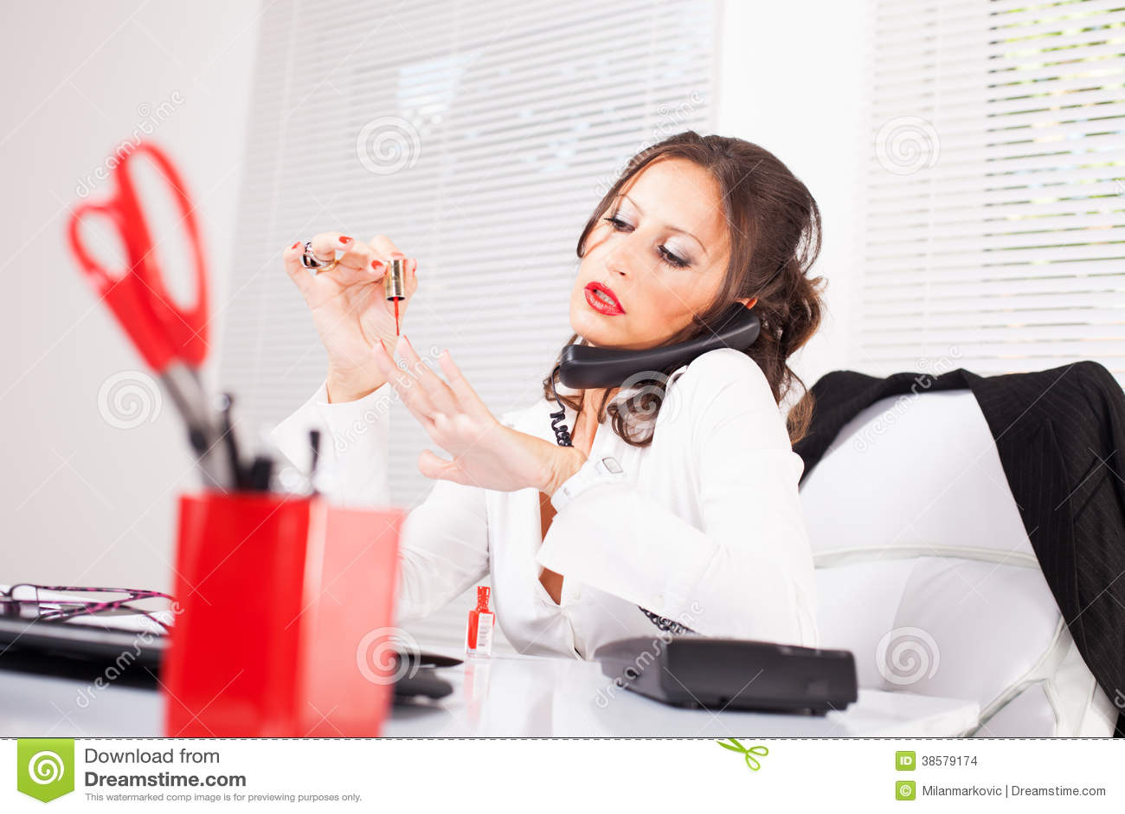 Секретарши ногтей