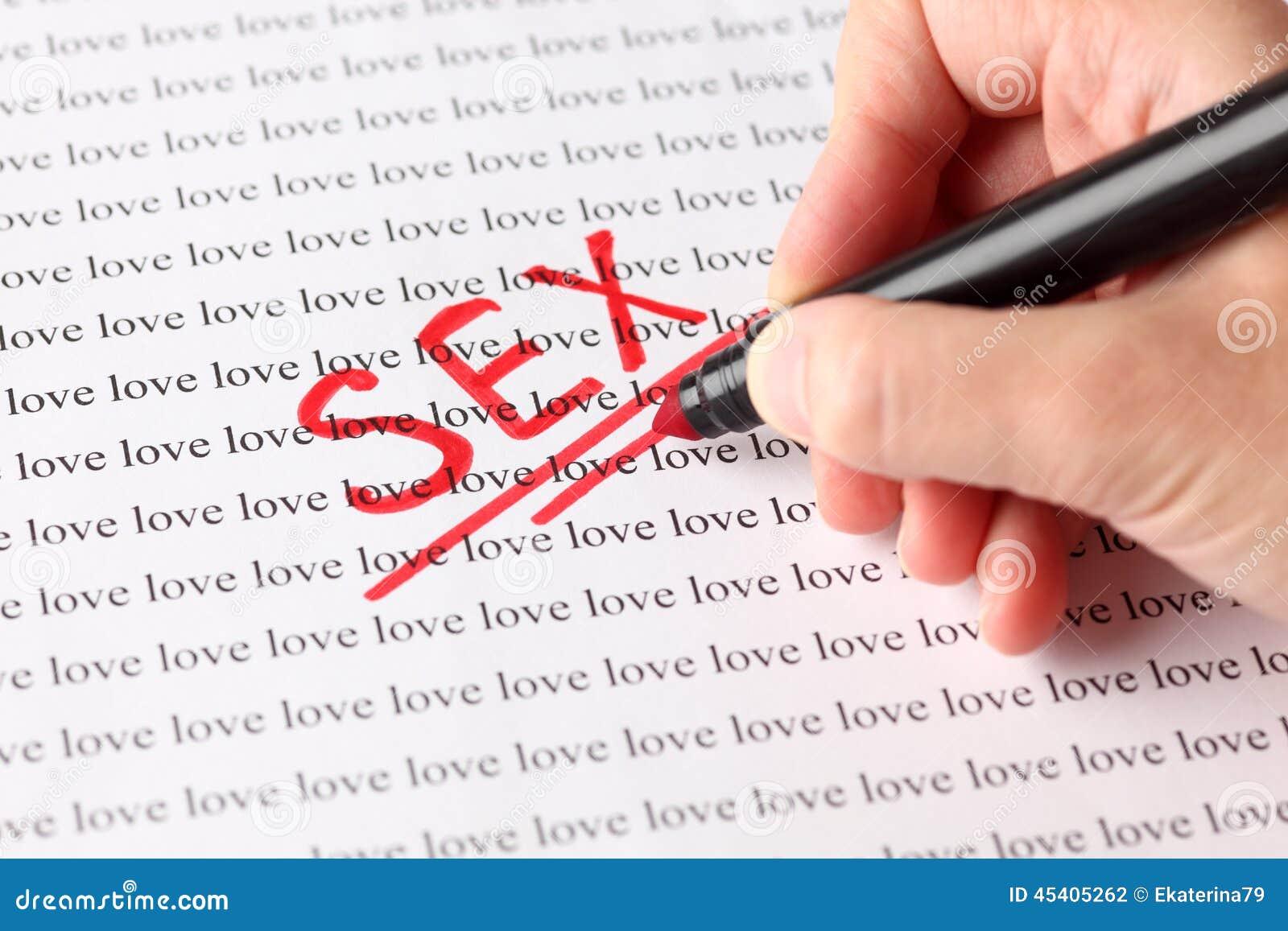 Секс влюбленность