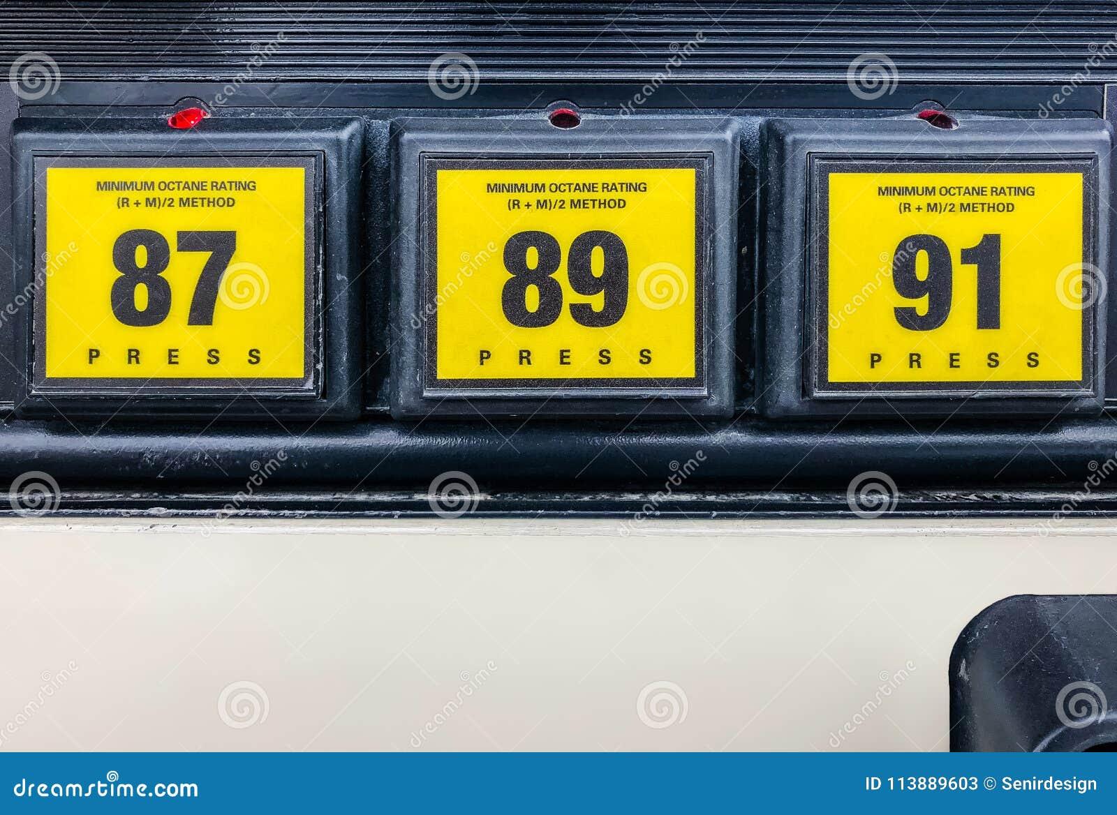 Селектор оценки октана газового насоса