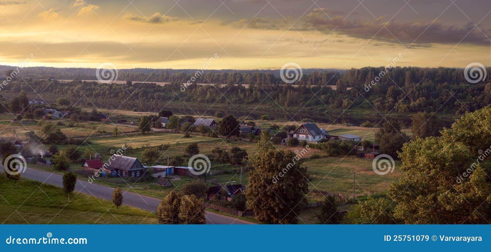 село взгляда реки