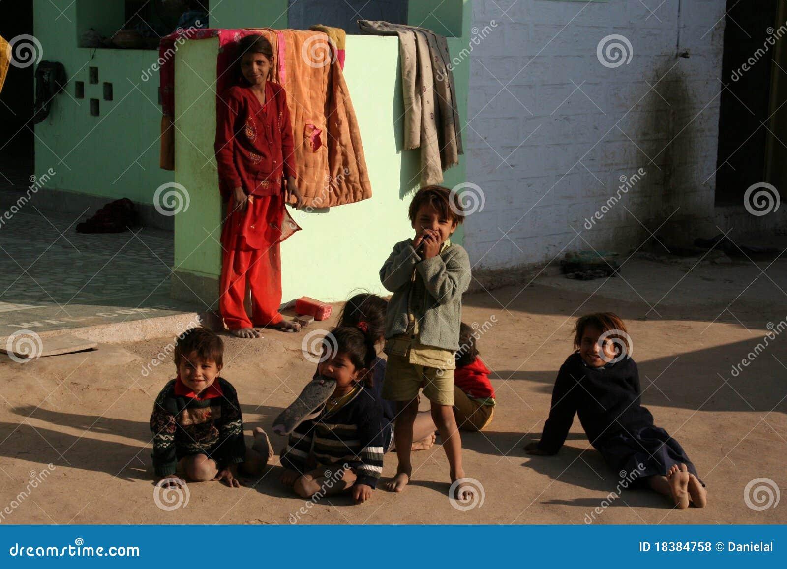 село индейца детей