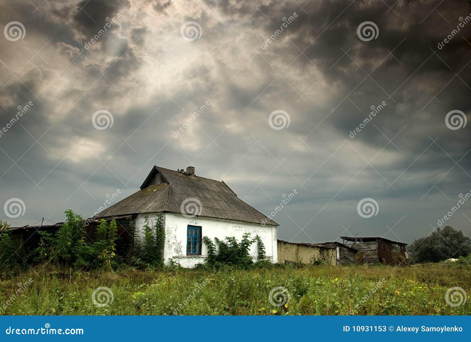 село хаты края старое