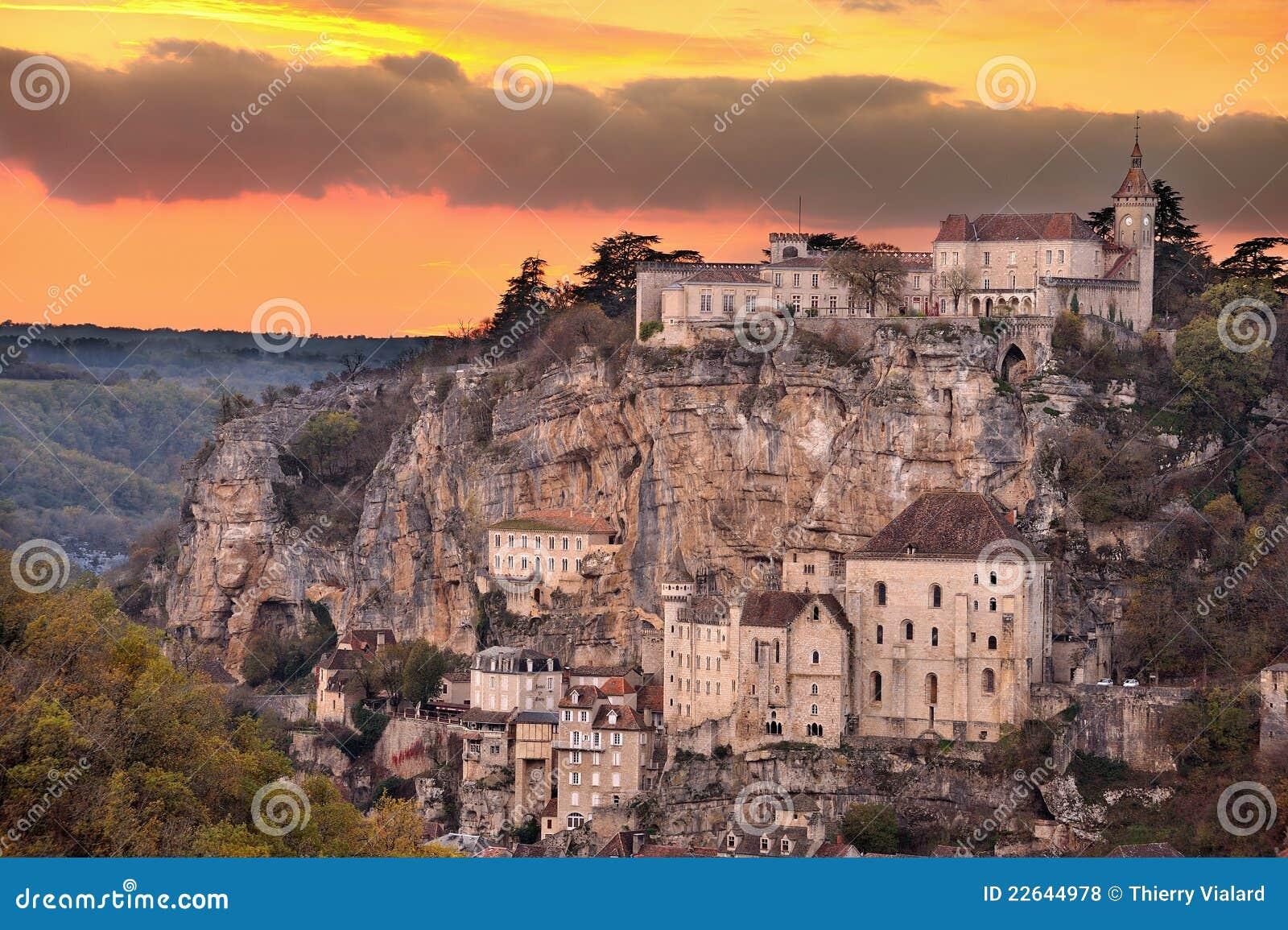 село rocamadour 3