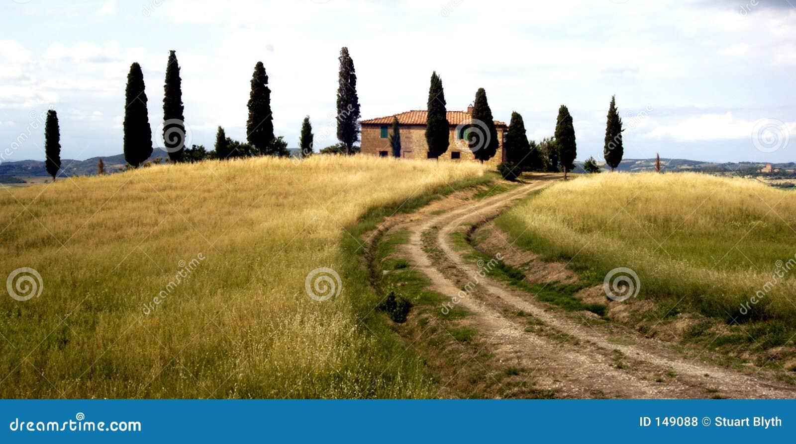 сельский дом tuscan