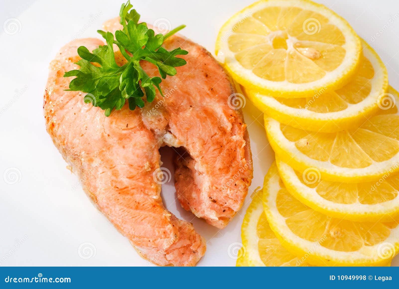 семги лимона выкружки