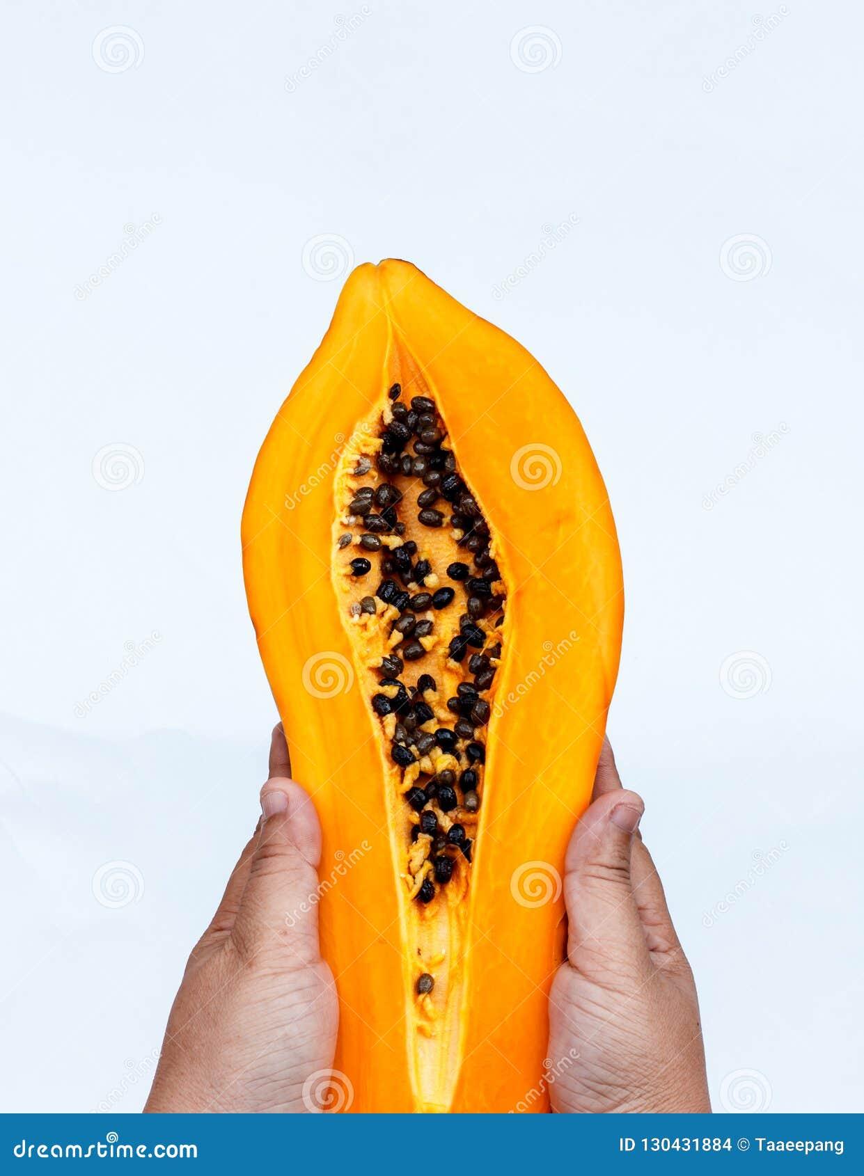Семена папапайи которые близко сфотографированы