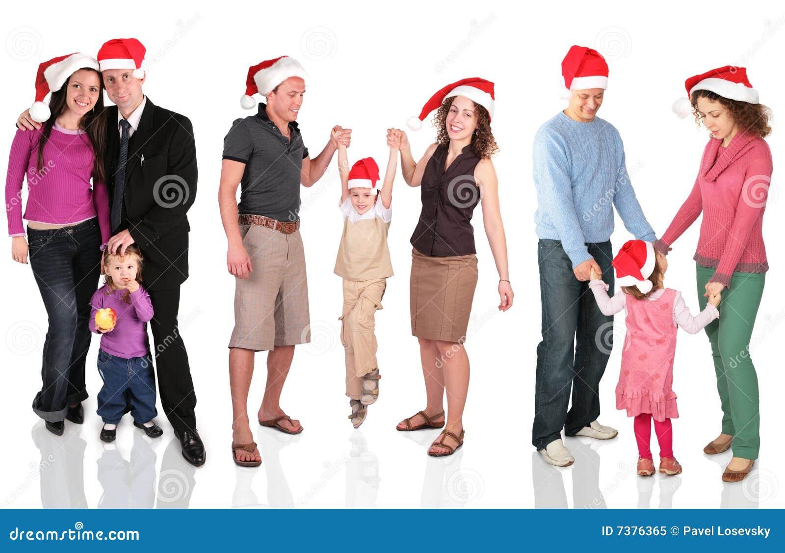семьи рождества много