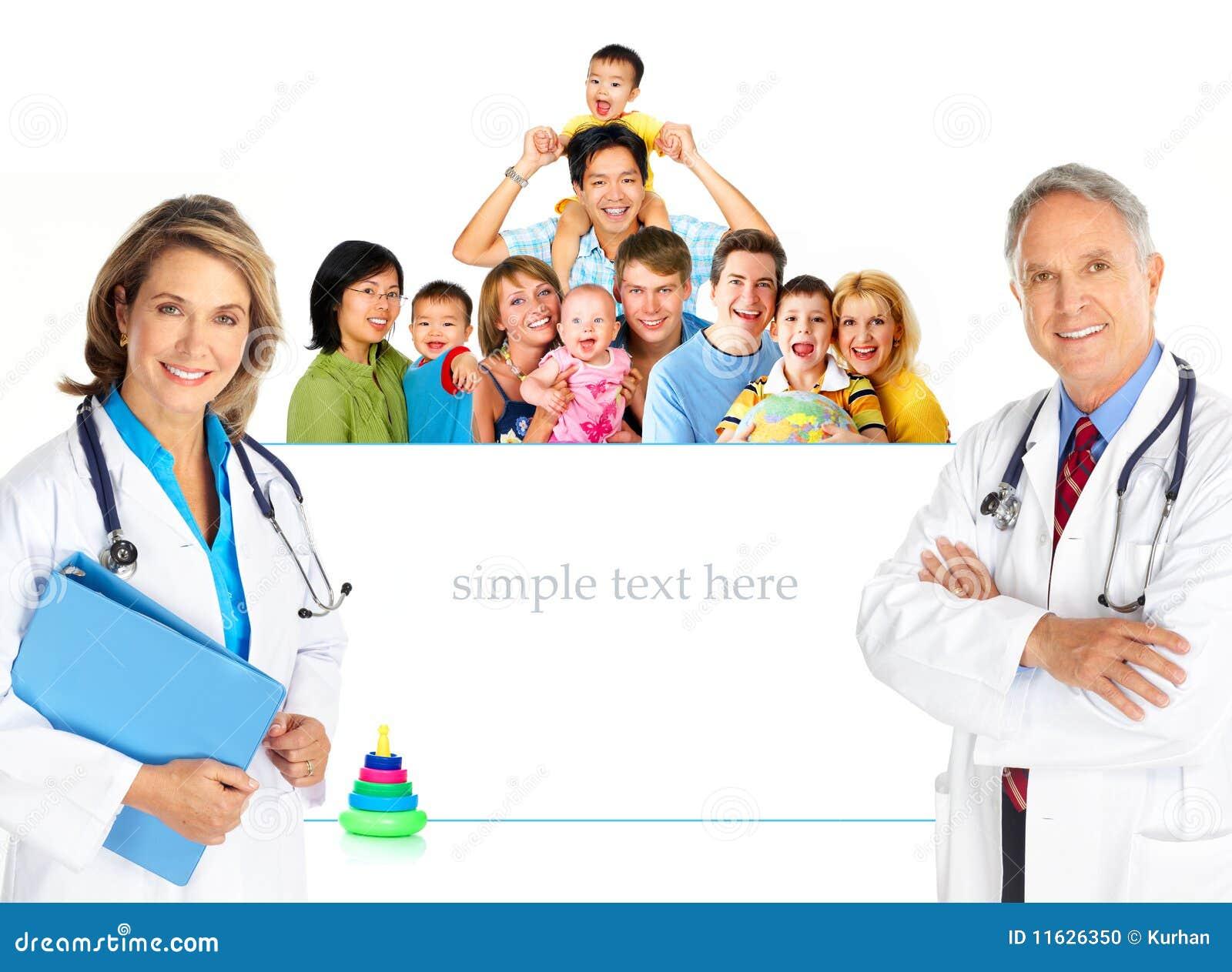 семья доктора
