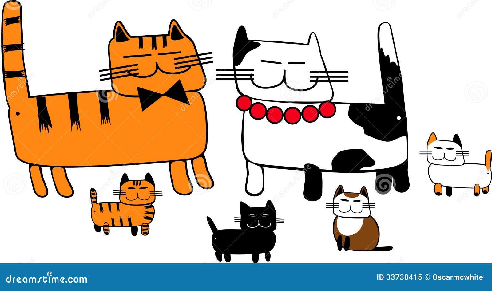 Семья кота