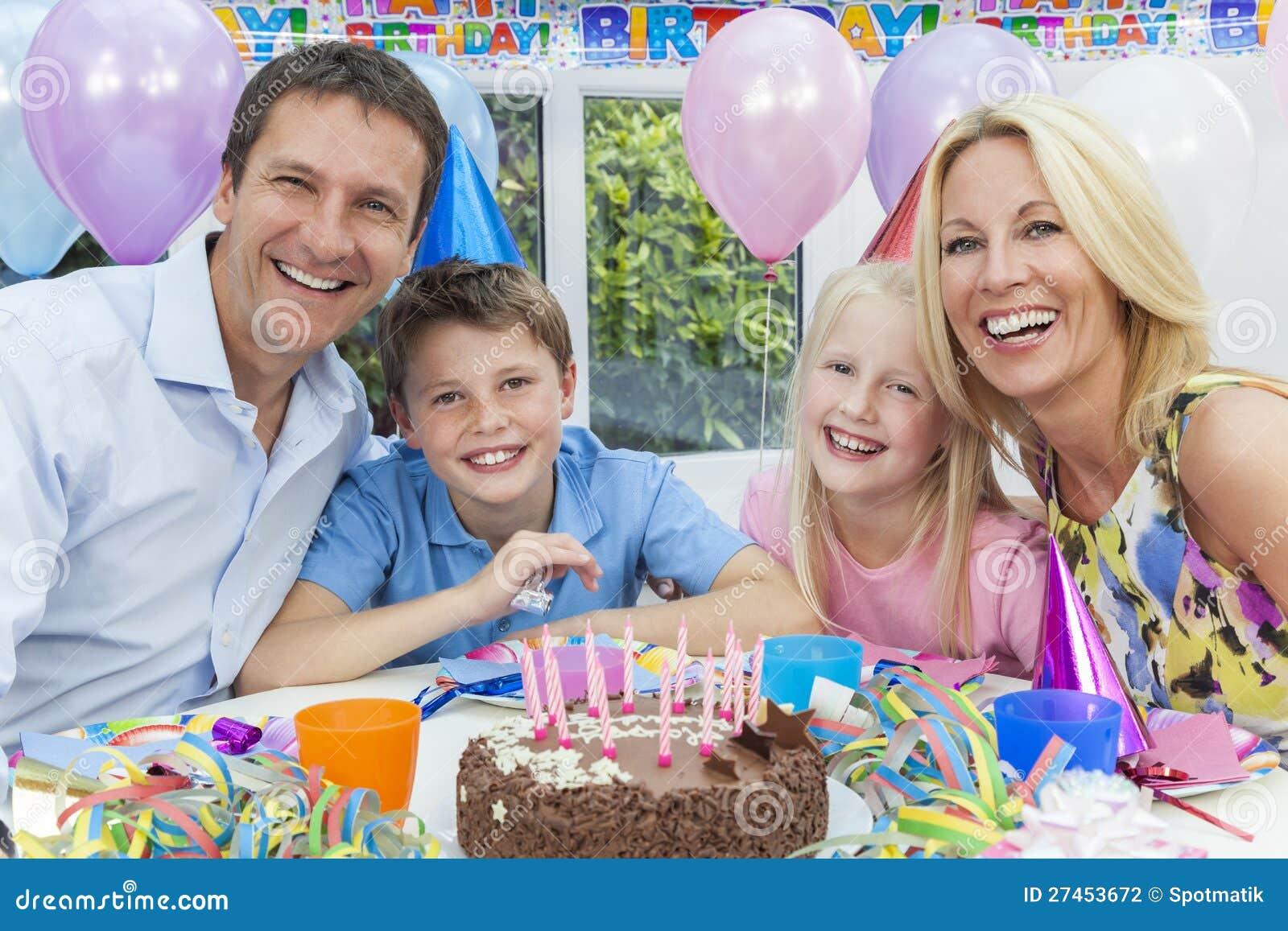 Сценарии дня рождения в кругу семьи без тамады