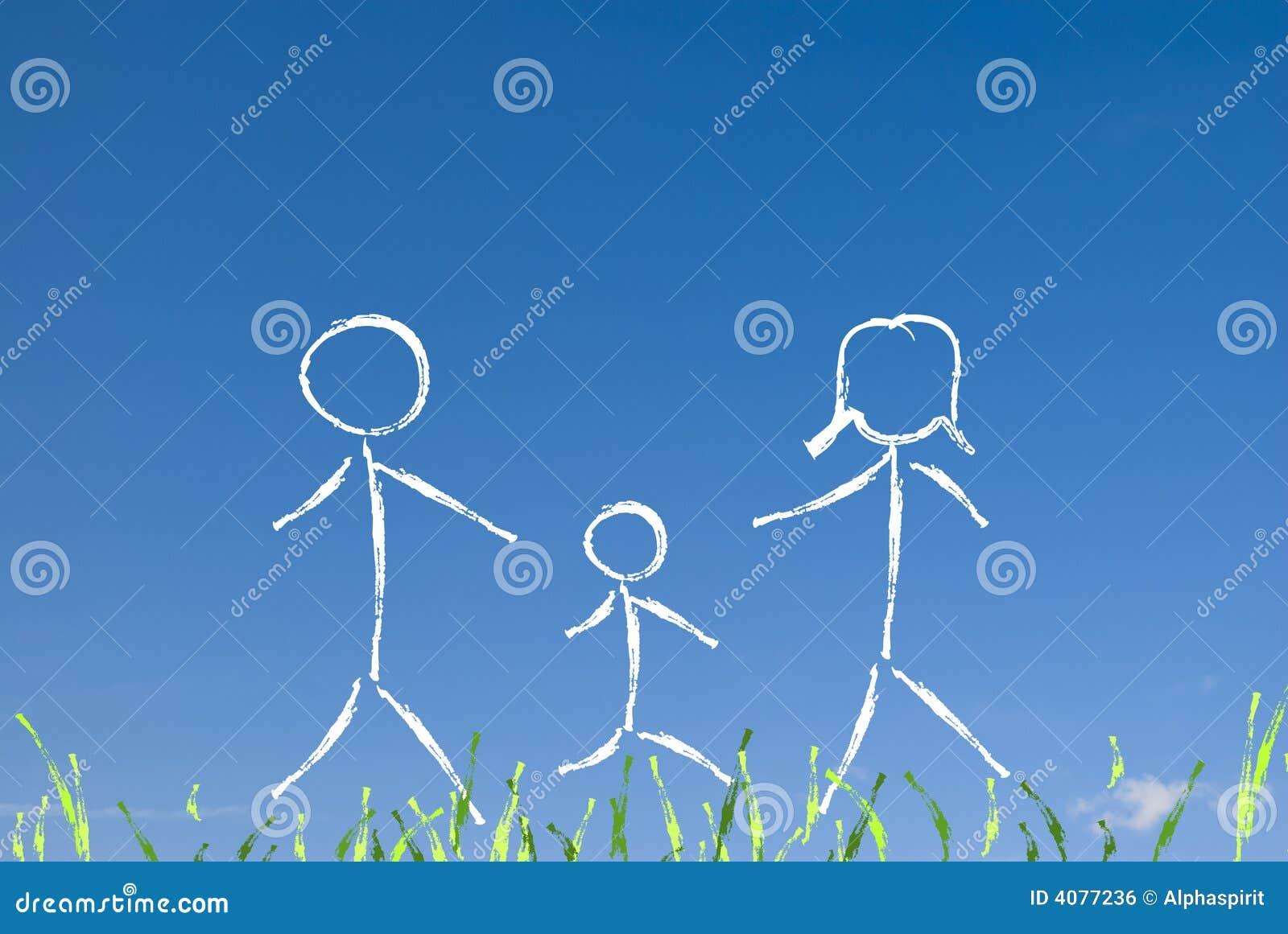 семья принципиальной схемы счастливая