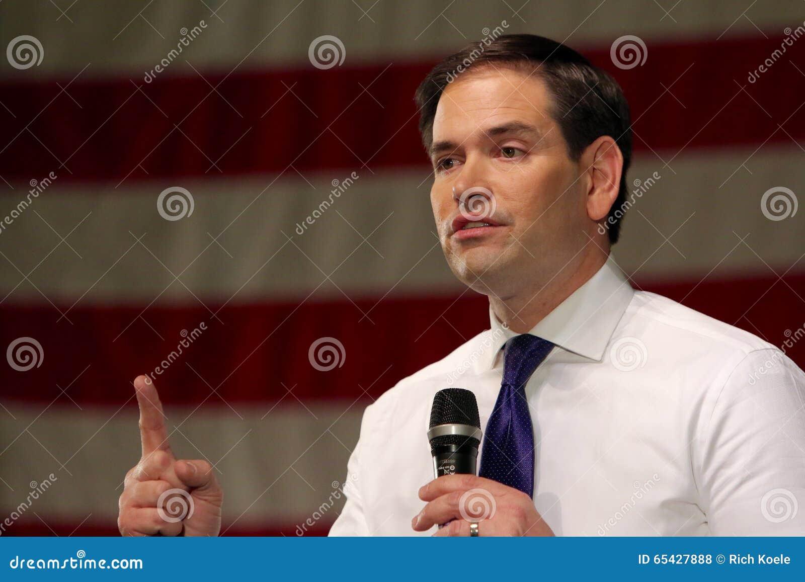 Сенатор Marco Rubio кандидата в президенты