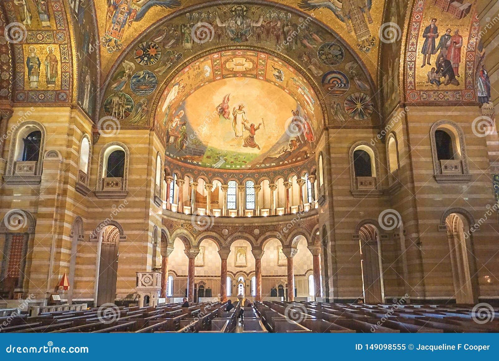 Сент-Луис Миссури: 7-ое ноября 2018; Базилика собора Сент-Луис